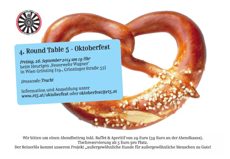 Das 4. Wiener Charity-Oktoberfest!