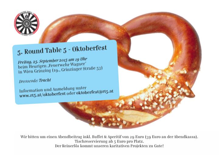 Das 5. Round Table 5 Oktoberfest